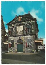 S20 VINTAGE GOUDA DE WAAG POSTCARD CHEESE WEIGHING HOUSE HOLLAND NETHERLANDS