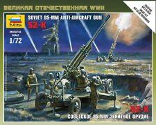 Zvezda 1/72 Soviet 85 mm ANTI-AIRCRAFT GUN Nº 6148
