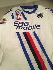 Sampdoria Match Worn Player Issue Football Shirt Maglia Calcio Preparata
