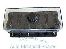 CLASSIC / KIT CAR standard blade fuse box 6 way lucar terminals