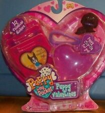 New Sealed Puppy in my Pocket Valentines Stickers Clip On ~ Irish Setter ~ 2009