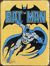Sólo Batman Retro Metal placa de pared Arte Vintage Cartel De Publicidad Cueva de hombre