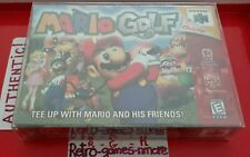 Mario Golf Nintendo 64 Authentic OEM N64 Game, Actual pic Sealed Look/Read WELL!