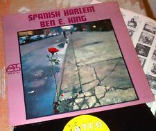 Spanish Harlem BEN E. KING Orig* ATCO Harp SOUL Mono BESAME MUCHO Come Closer Lp