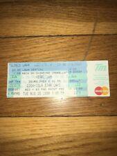 1998 Pearl Jam Concert Ticket Pittsburgh Starlake ampitheatr Grunge Eddie Vedder
