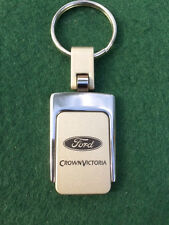 New Crown Victoria Metal Logo Key Chain Ring Fob. Handsome, Quality Keychain.