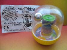 KUGEL TRICK  SPIEL  PIANETA  + CARTINA 657 026     GERMANIA 1995