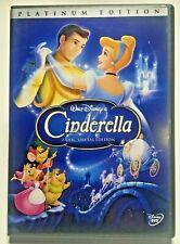 Authentic Disney: Cinderella    (Platinum Edition DVD No Slipcover)   LIKE NEW