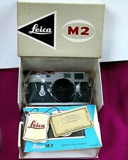 Rare! Leica M2 Serial #1069446, with Box and Papers, Wetzlar Germany ca. 1963