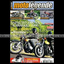 MOTO LEGENDE N°211 APRILIA 6.5 STARCK JAPAUTO VX 1000 KAWASAKI Z 900 YAMAHA YAS3