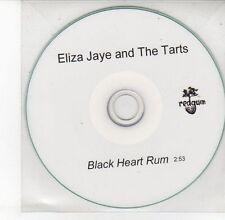(DV556) Eliza Jaye & The Tarts, Black Heart Rum - DJ CD