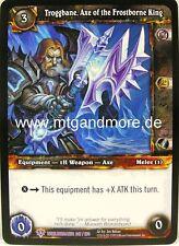 WoW - 1x Troggbane, Axe of the Frostborne King