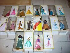 LOT of 10 DISNEY DESIGNER PRINCESS DOLLS MIB