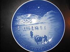 Bing & Grondahl 1972 Christmas Plate No Res!