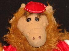 VINTAGE PLUSH ALF ALIEN ORBITERS BASEBALL JERSEY BURGER KING PLUSH PUPPET (PLUSH