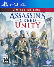 Assassin's Creed Unity Limited Edition PS4 Game BRAND NEW SEALED