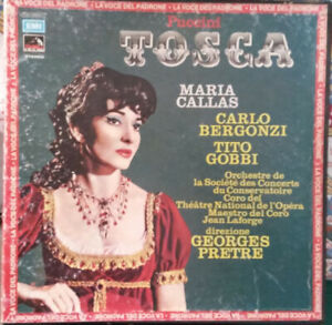 Puccini – Tosca Opera Completa - Box Double LP & Booklet - Mint-