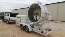 1941 GE CARBON ARC SEARCH LIGHT WITH GENERATOR SET AND TRAILER