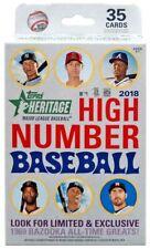 2018 Topps Heritage High Number Baseball Hanger Box FACTORY SEALED