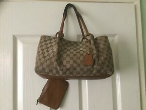 Authentic Gucci vintage bag with attached purse