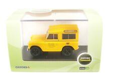 Land Rover Series II Swb Hard Top post Office Telephones (Yellow) 1:43