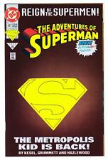 ADVENTURES OF SUPERMAN #501 (6/93)--NM+ /Collector's Ed w/Die-Cut Cover+Poster^