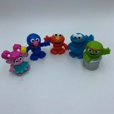 Sesame Street Friends Playskool Collector Set Of 5 Figures