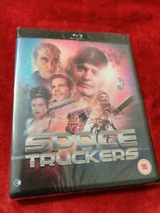 SPACE TRUCKERS BLU RAY BRAND NEW SEALED - BLACK CASE RARE