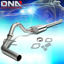 "FOR 00-06 SUBURBAN/YUKON XL 1500 3""TIP STAINLESS STEEL EXHAUST CATBACK SYSTEM"