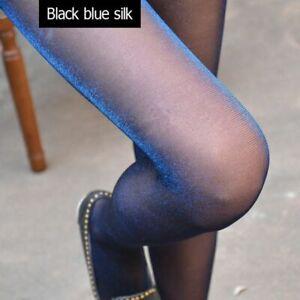Women Shiny Silk Pantyhose Fashion Glitter Nylon Compression Glossy Stockings