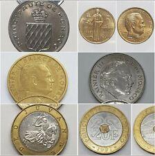 Monnaies Monaco Rainier 3 Francs Centimes 1960 2000 choisissez votre monnaie !