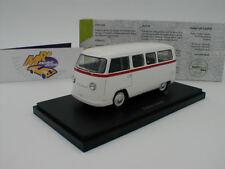 """Autocult 08008-palten diesel (VW t1) año de fabricación 1954 en """"blanco-rojo"""" 1:43 nuevo"""