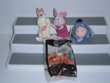 MPBMHMT1 4 DIFF. Happy Meal Toys from Piglets Big Movie 2003