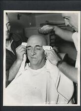 EDWARD EVERETT HORTON IN THE MAKEUP CHAIR - 1947 DBLWT BY LIPPMAN - BALD WIG