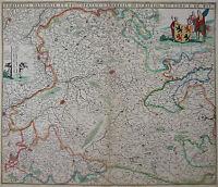 Grafschaft Hennegau - Frederick de Wit 1690 - Comitatus Hannoniae...