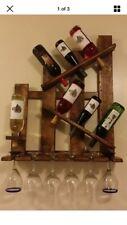 Reclaimed Pallet Wood Wine Rack-Wall Mount