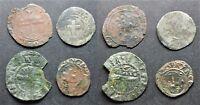 Lot de 4 monnaies royales / féodales à déterminer