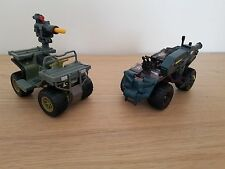 Gi joe Tiger Claw ATV & Cobra Serpent TRAX ATV