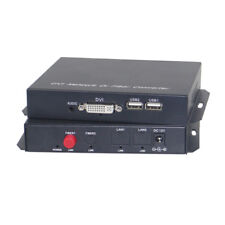 1080P DVI Fiber Optical media converters extender with KVM Tx/Rx  1310/1550nm
