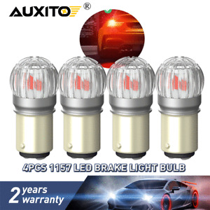 1157 BAY15D LED CANBUS Error Free Brake Tail Light/Parking Safety Warning Bulbs
