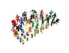 Lot Of 35 Action Figures & Toys Power Rangers Lego Marvel DC Knights Bandai More