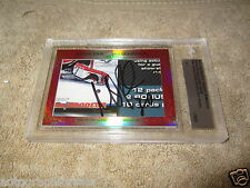 Martin Brodeur Jason Arnott 2015 Leaf Masterpiece Cut Signature signed card 1/1