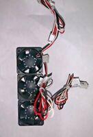 3 pcs  AVC DB04028B12U 40 x  40 x 28 fan 12V 0.66 A  cooling fan 3 pin