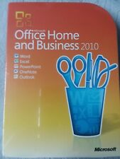 Microsoft Office Home and Business 2010~Up to 3 Home Pc's~Non Commercial Use~New