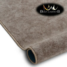 Best Carpets Hardwearing Soft SERENADE taupe Stain Resistant Stairs Rugs