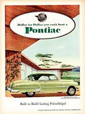 Old Print. Lime 1951 Pontiac Eight Catalina auto advertisement