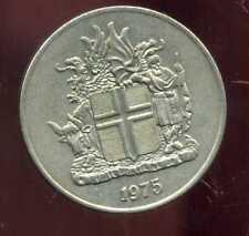 ISLANDE  10  kronur     1975  ( bis )
