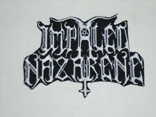 IMPALED NAZARENE BLACK METAL IRON ON EMBROIDERED PATCH