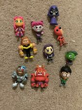 Funko Mystery Minis Dc Teen Titans Go! Lot Of 10