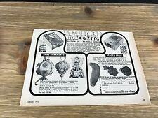Old Stock SEALED Pin Sequin A47 Vtg Walco Beaded Fruit Kit Banana NEW IN PKG